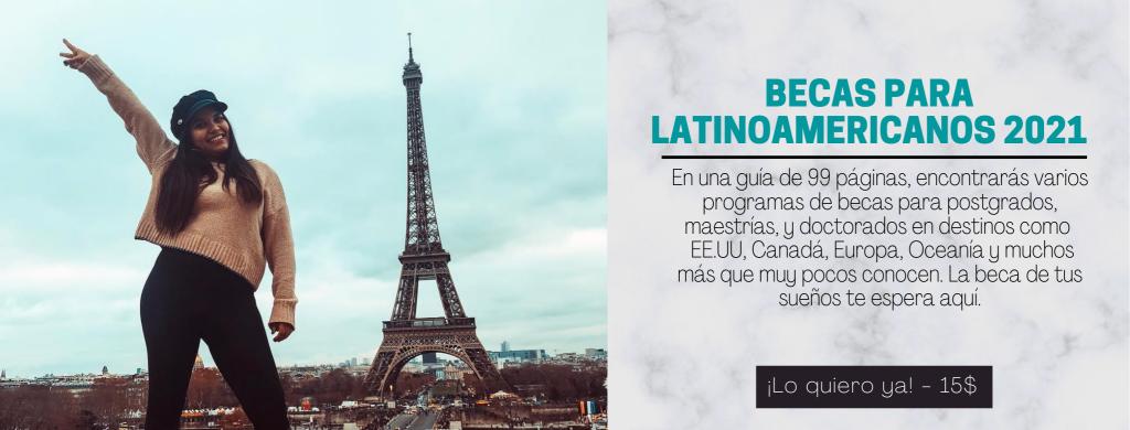 Becas para latinoamericanos
